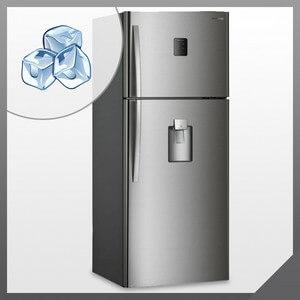 Лед на стенке холодильника