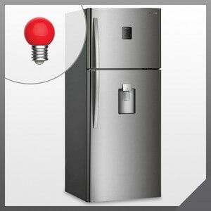 Горит красная лампочка в холодильнике